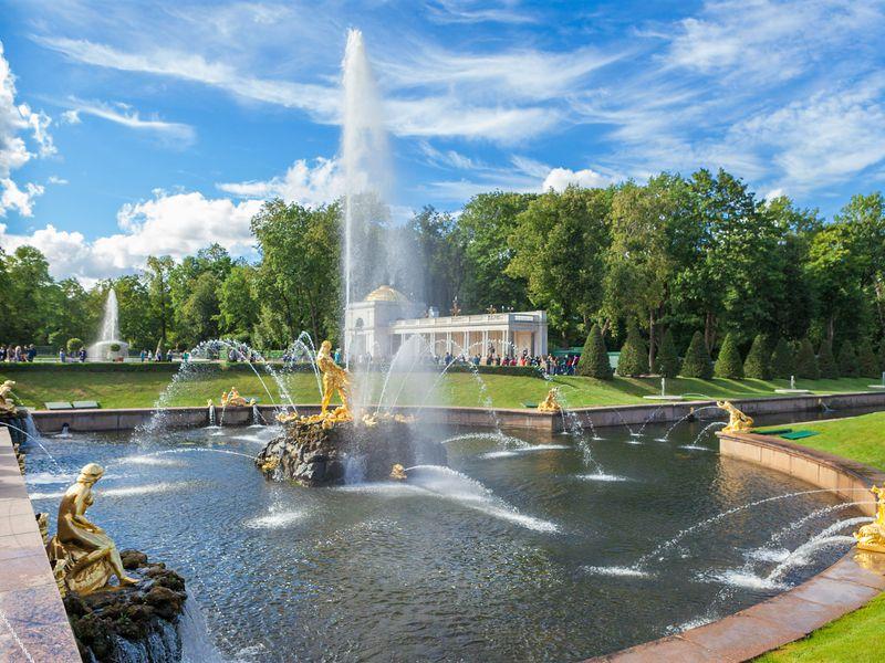 Фото-экскурсия «Петергоф — столица фонтанов» - экскурсия в Санкт-Петербурге