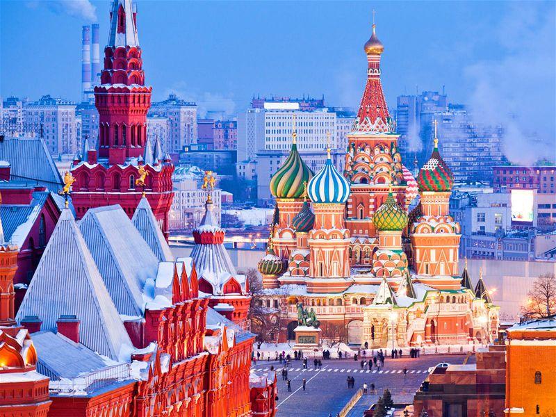Обзорная прогулка по Москве «Все лучшее сразу» - экскурсия в Москве