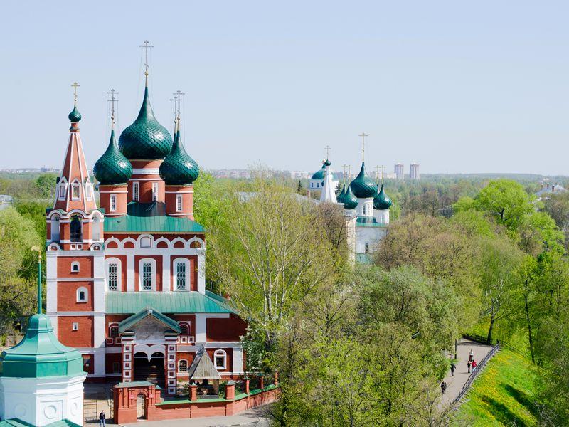 Ярославль впервые - экскурсия в Ярославле