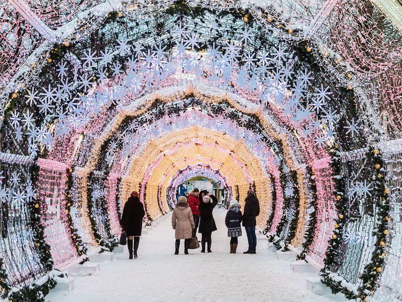 Зимний променад по Москве с чаепитием - экскурсия в Москве