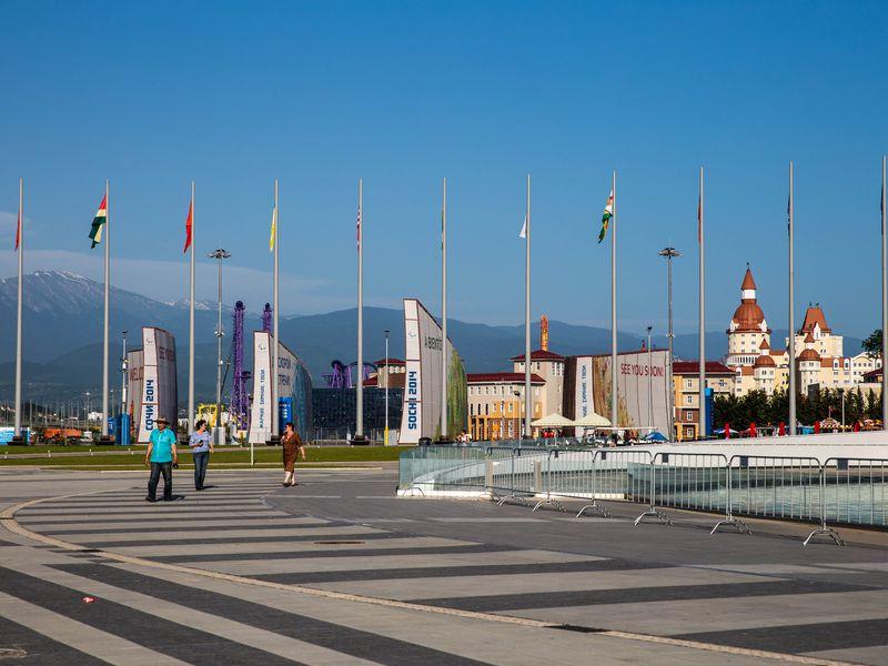 Прогулка по Олимпийскому парку - экскурсия в Адлере