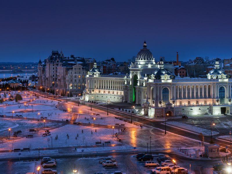 Групповая экскурсия вКазани: согоньком, ветерком ивкусом - экскурсия в Казани
