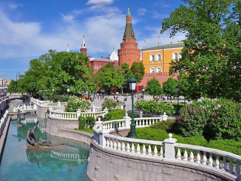 Вокруг Московского Кремля: обойти ипознакомиться! - экскурсия в Москве
