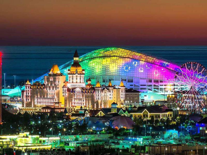 Олимпийский парк с волонтёром Игр-2014 - экскурсия в Сочи