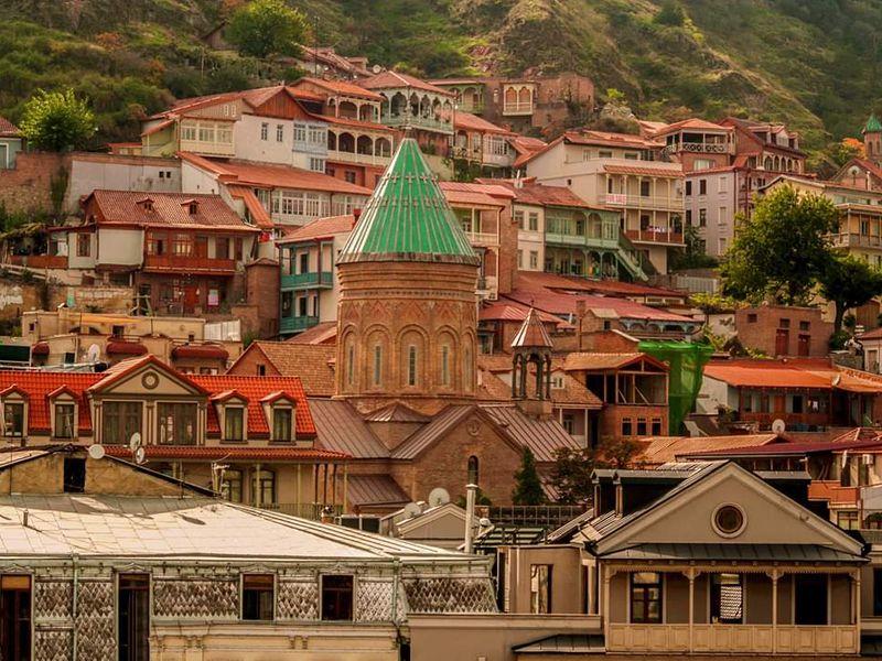 Знакомство с Тифлисом - экскурсия в Тбилиси