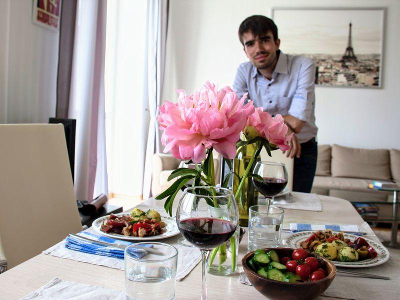 Традиционный ужин вофранко-русской семье! - экскурсия в Москве