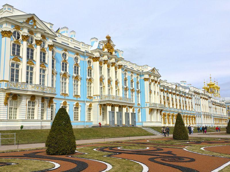 Блестящий Екатерининский дворец - экскурсия в Санкт-Петербурге