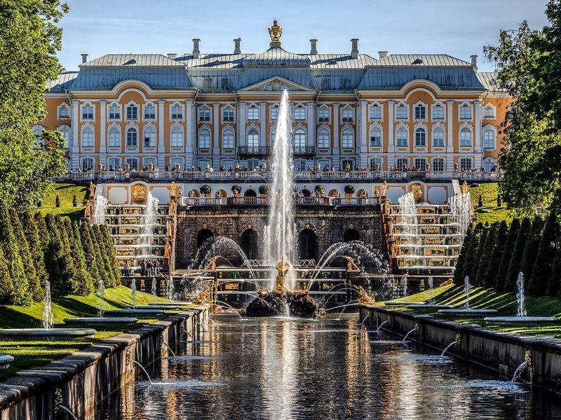 Петергоф иКронштадт наавтомобильной экскурсии - экскурсия в Санкт-Петербурге