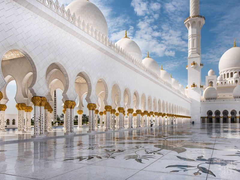 Из Дубая в Абу-Даби - экскурсия в Дубае