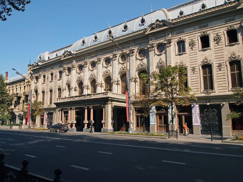 Гарэт Убани, онже новый Тифлис - экскурсия в Тбилиси