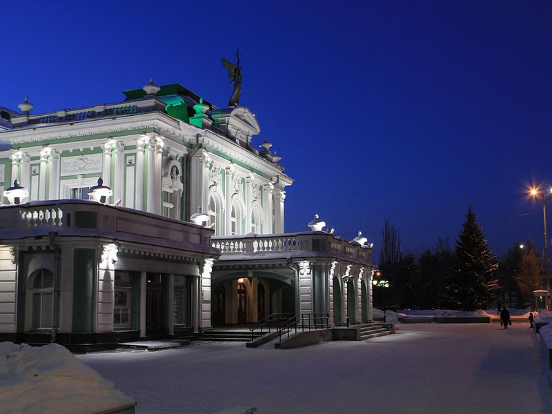 Омск — «третья столица России» - экскурсия в Омске