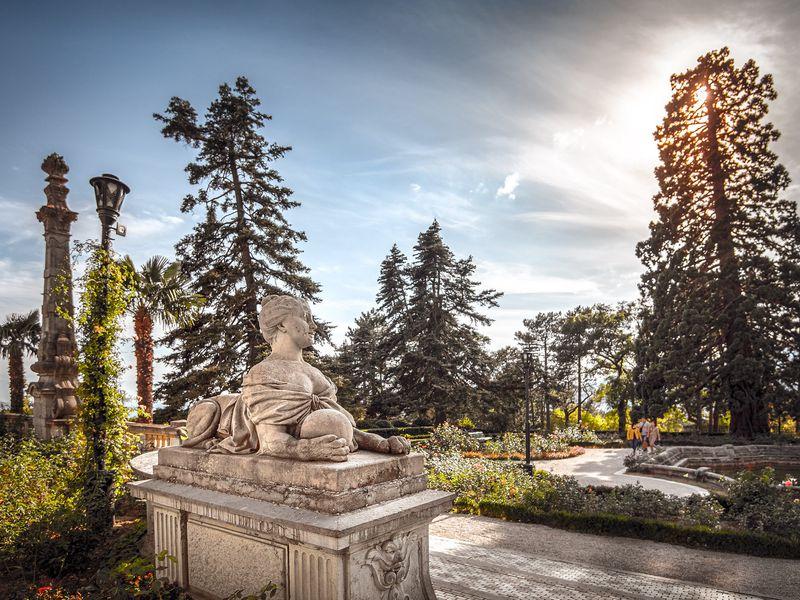 Дивная Массандра: от дворцов до винных погребов - экскурсия в Алуште