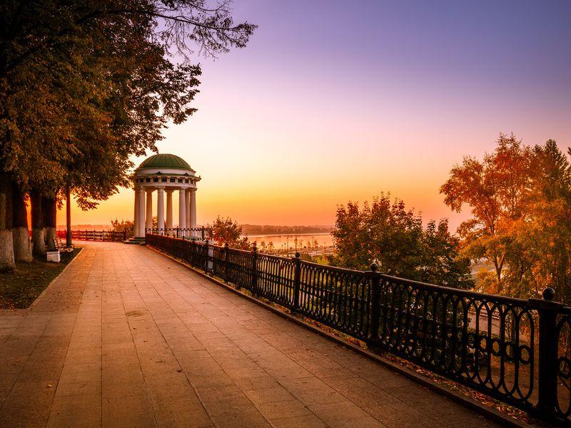 Вечерний Ярославль - экскурсия в Ярославле