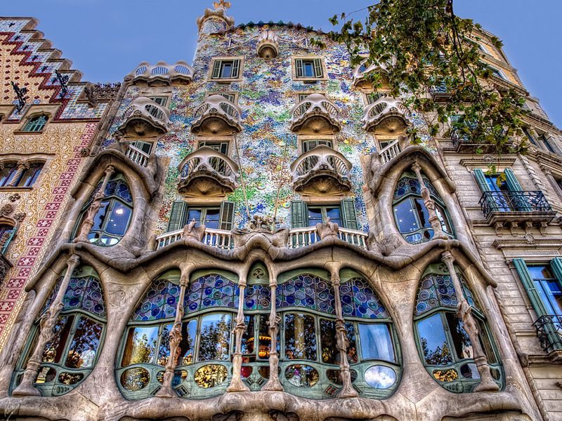 Пять районов Барселоны затри часа - экскурсия в Барселоне