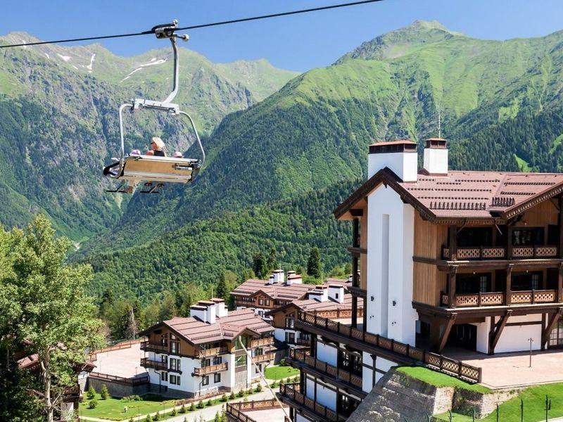 3 курорта Красной Поляны и Олимпийский парк - экскурсия в Сочи