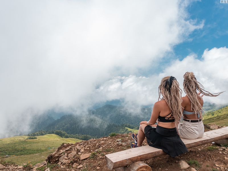 Трекинг в облаках: покорить хребет Аибга - экскурсия в Сочи