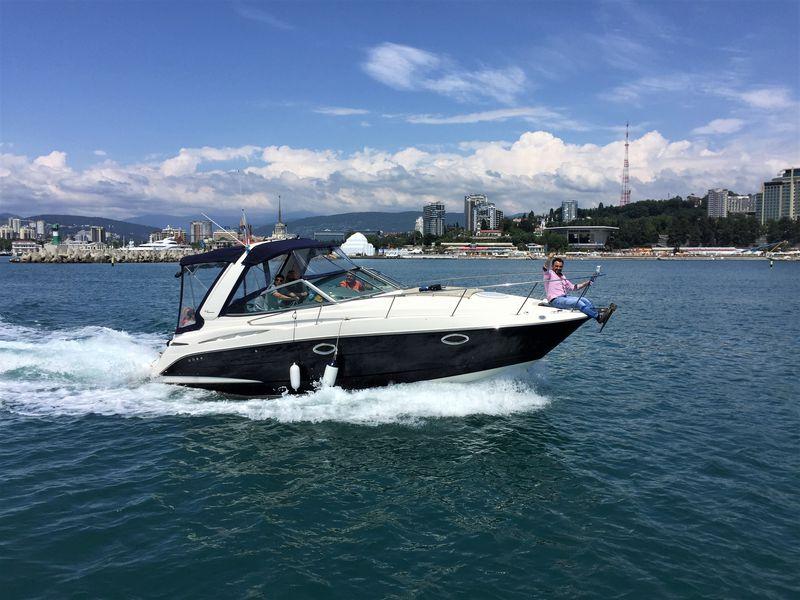 Морская прогулка на яхте в Сочи - экскурсия в Сочи