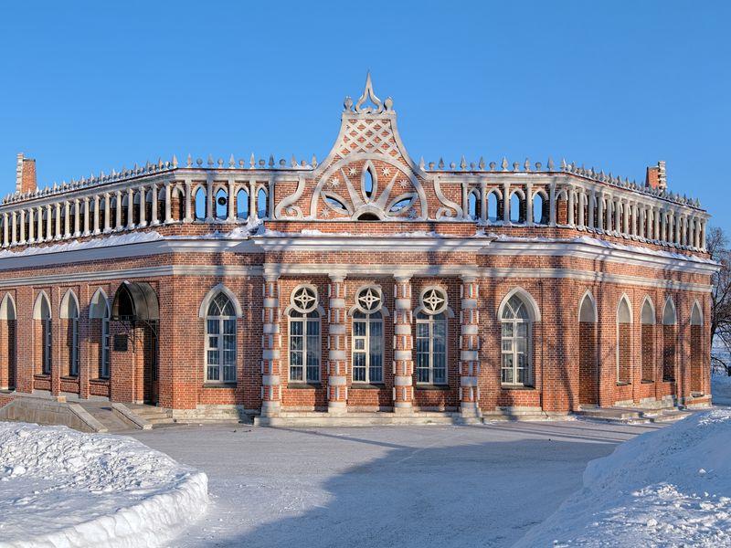 Царственное Царицыно - экскурсия в Москве