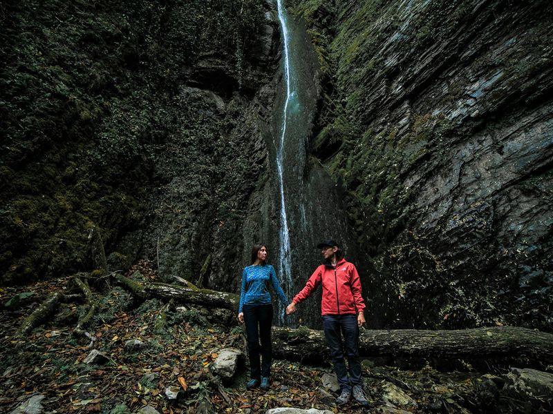 Фотопоход к таинственному водопаду Хрустальный - экскурсия в Красной Поляне