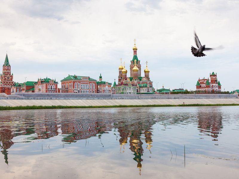 Изстолицы Татарстана встолицу Марий Эл - экскурсия в Казани