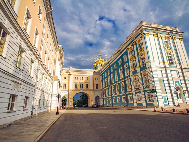 Царскосельский Лицей и Екатерининский дворец - экскурсия в Санкт-Петербурге