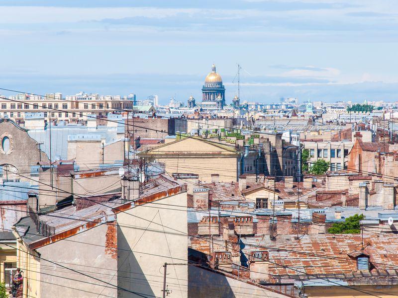 Пять панорамных крыш Петербурга - экскурсия в Санкт-Петербурге