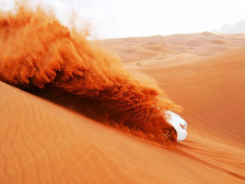 Джип-сафари по дубайской пустыне - экскурсия в Дубае