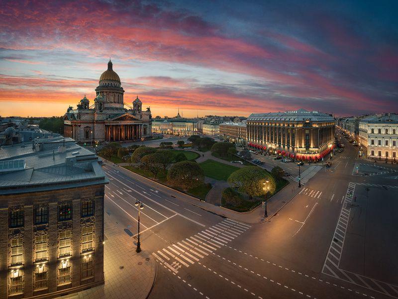 Вокруг Исаакиевского собора - экскурсия в Санкт-Петербурге