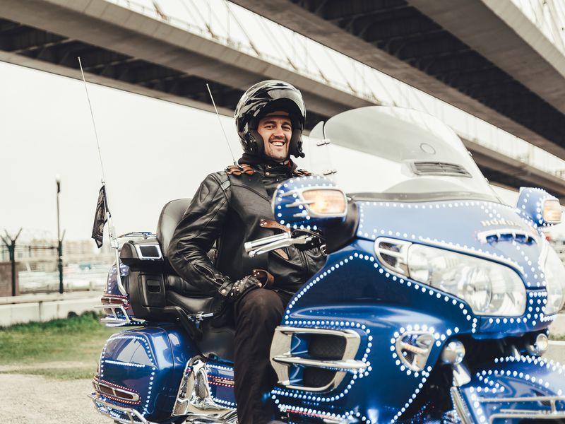 ПоПетербургу намотоцикле - экскурсия в Санкт-Петербурге