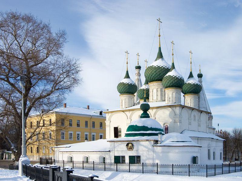 Старые улочки Ярославля - экскурсия в Ярославле