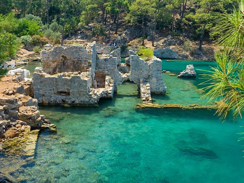 Демре, Кекова, Мира: культовые места южного берега Турции - экскурсия в Аланье