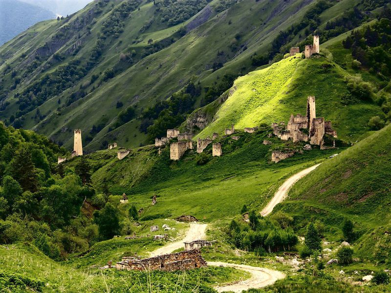 Горная Ингушетия — страна башен и легенд - экскурсия в Назрани
