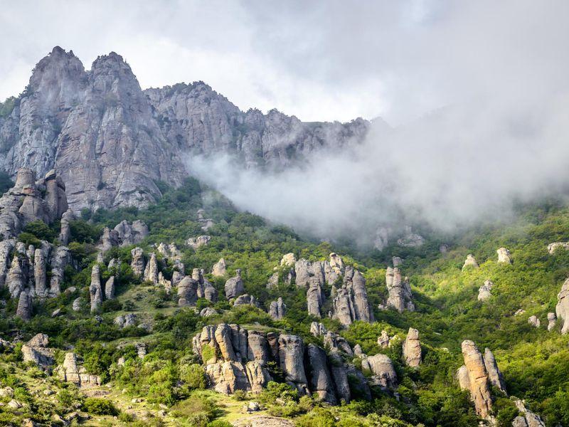Долина Привидений, или по следам «Кавказской пленницы» - экскурсия в Алуште