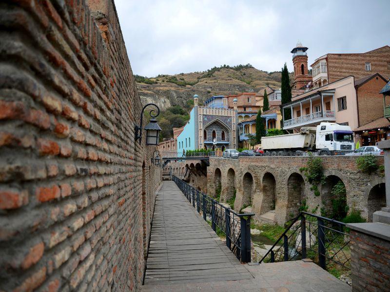 Тбилиси: прогулка поводе, земле ивоздуху - экскурсия в Тбилиси
