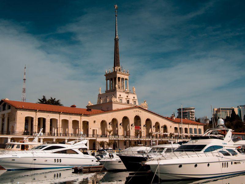 Сочи — город сталинских дворцов - экскурсия в Сочи