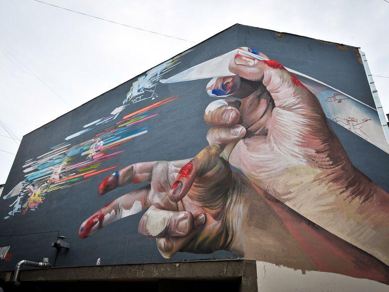 Екатеринбург и стрит-арт: прогулка с художником - экскурсия в Екатеринбурге