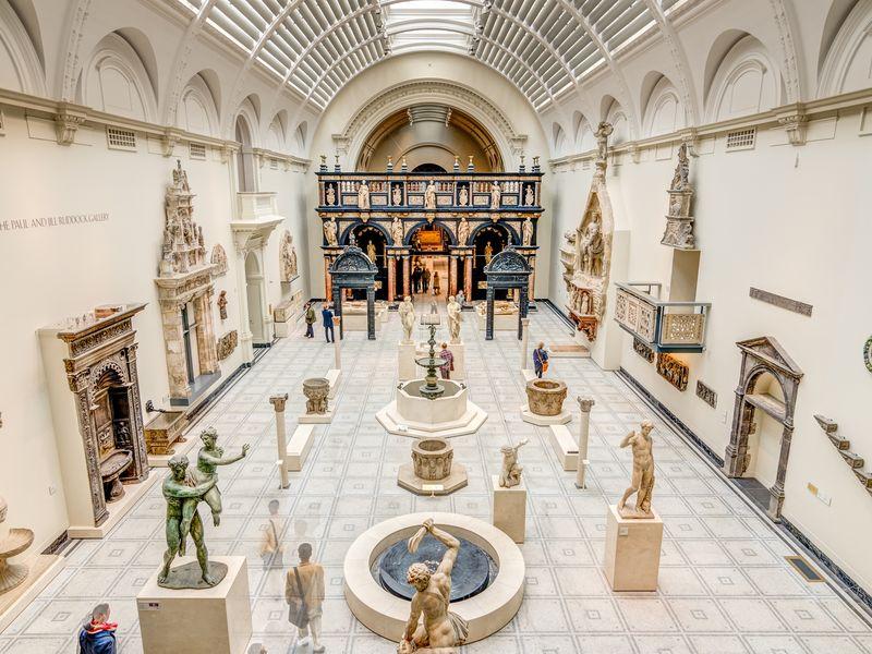 Музей Виктории и Альберта: история стиля - экскурсия в Лондоне