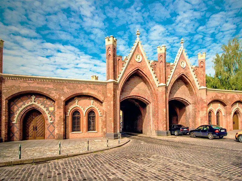 Башни, бастионы ифорты: город-крепость Кёнигсберг - экскурсия в Калининграде