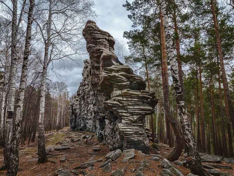 Треккинг к скалам Чертова городища - экскурсия в Екатеринбурге