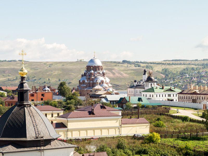 Свияжск, Раифский монастырь иХрам всех религий - экскурсия в Свияжске