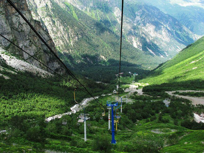 К сказочным панорамам Цейского ущелья! - экскурсия в Владикавказе