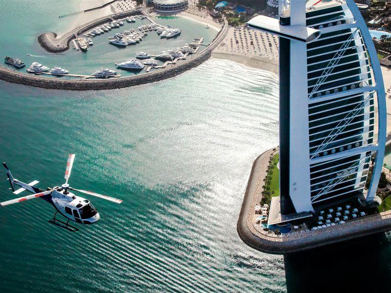 Полет над Дубаем на вертолете! - экскурсия в Дубае