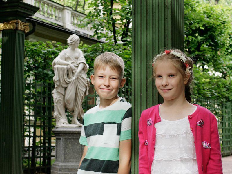 Семейная фотопрогулка по Петербургу - экскурсия в Санкт-Петербурге