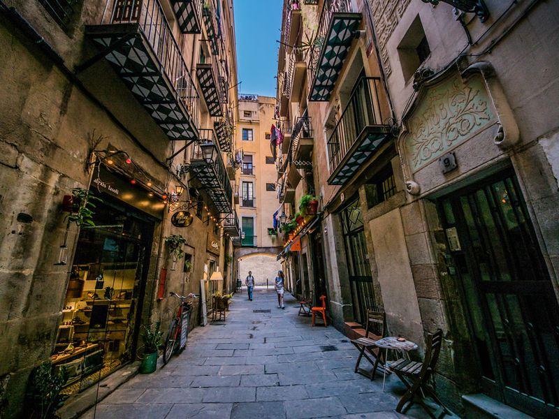 Готический квартал, Раваль иРибера - экскурсия в Барселоне