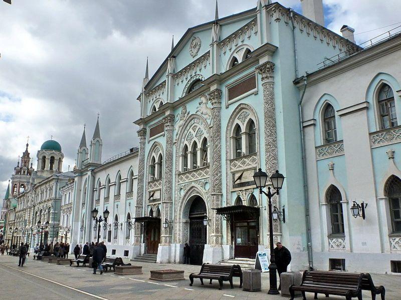 Москва от купцов до бизнесменов - экскурсия в Москве