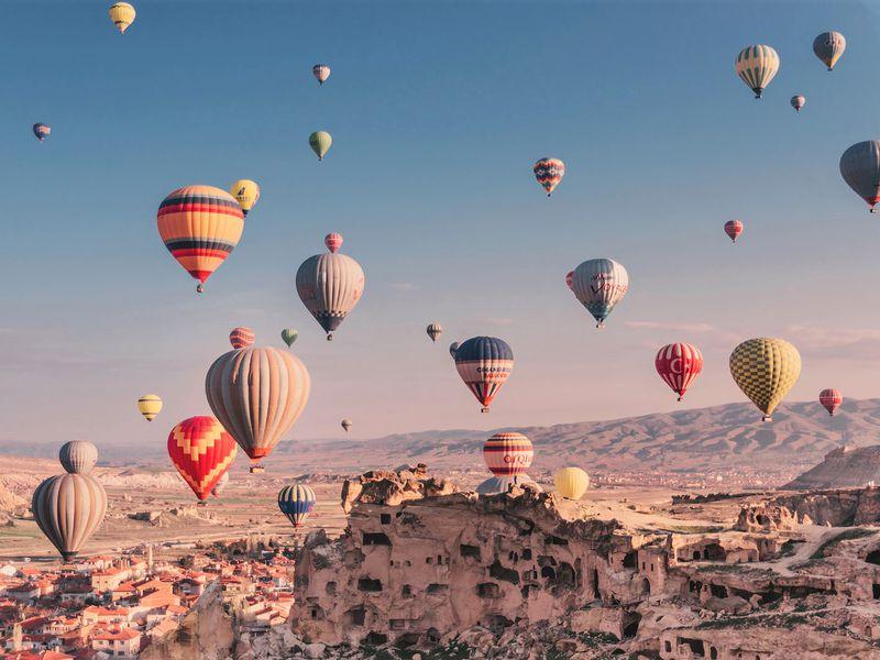 На воздушном шаре по долинам Каппадокии! - экскурсия в Каппадокии