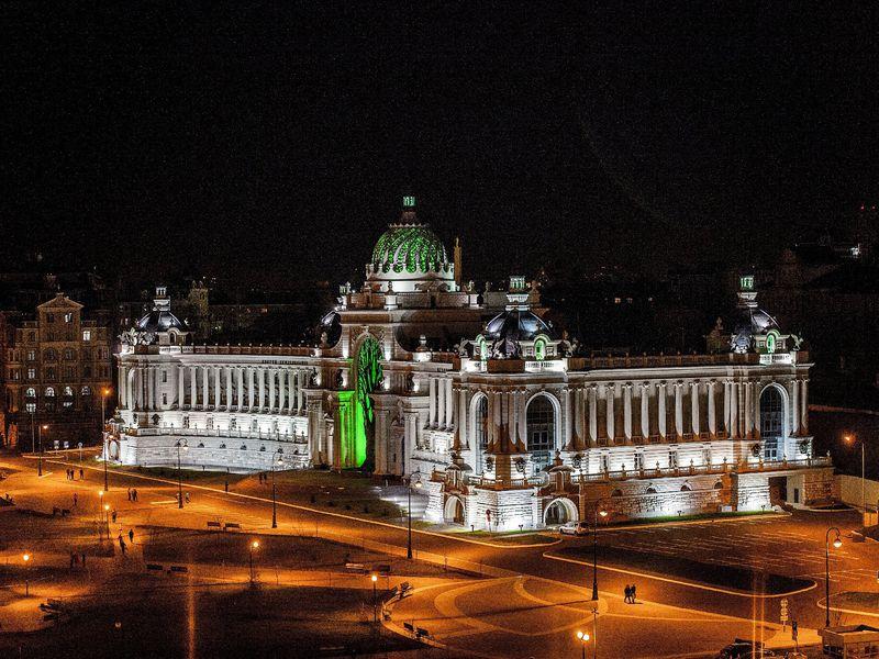 Обзорная экскурсия по вечерней Казани на автобусе - экскурсия в Казани