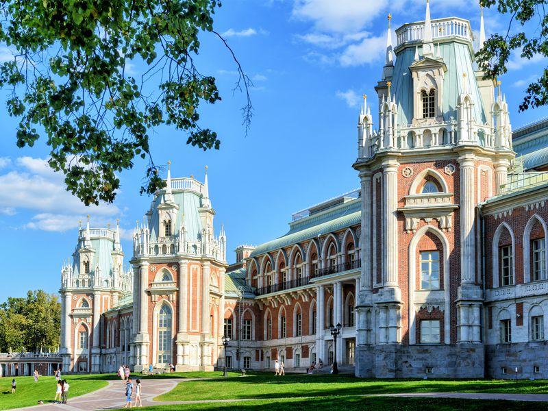История и красота Царицыно - экскурсия в Москве