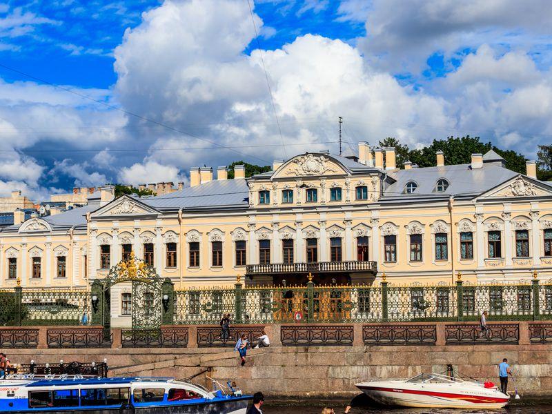 Фонтанный дом: будни графов Шереметевых - экскурсия в Санкт-Петербурге