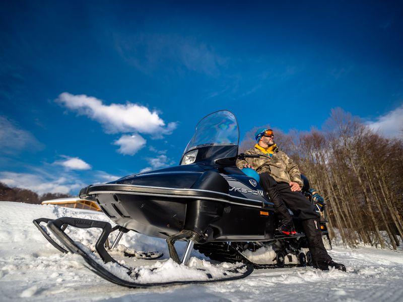 Снегоходное приключение в Красной Поляне - экскурсия в Красной Поляне